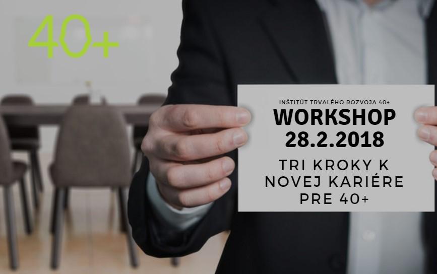 Workshop / Ako si nájsť prácu po 40tke