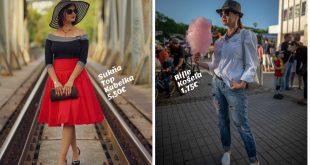 Oblieka sa výlučne zo second handu - blogerka Erika Bobelová