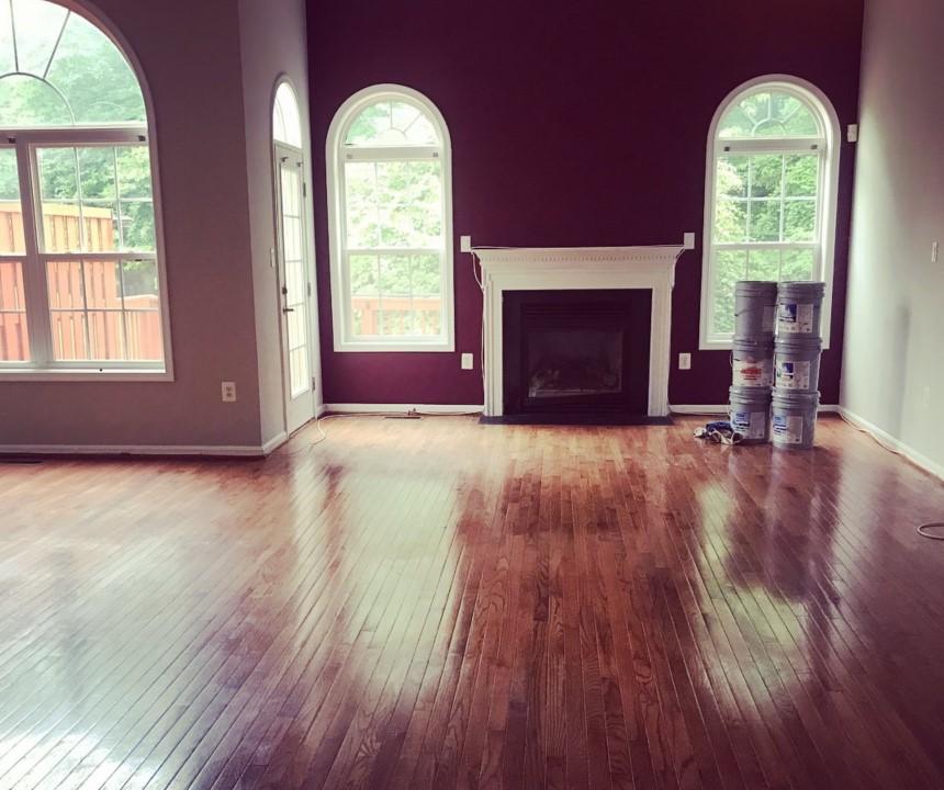 PRED: Obývačka pred stagingom