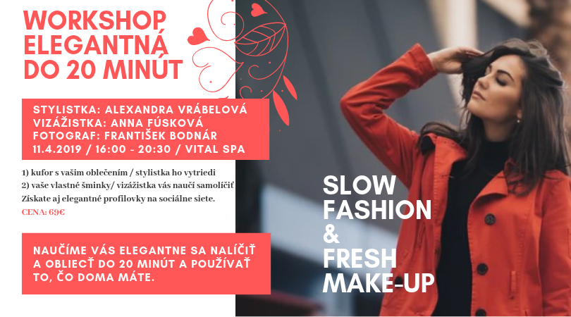 SLOW FASHION & fresh MAKE-UP