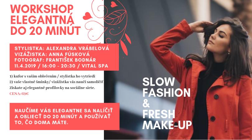 Workshop Elegantná žena do 20 minút | Magazín 40plus