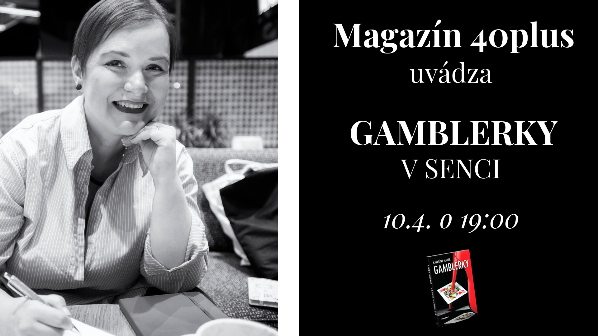 Gamblerky v Senci – autorské čítanie + autogramiáda