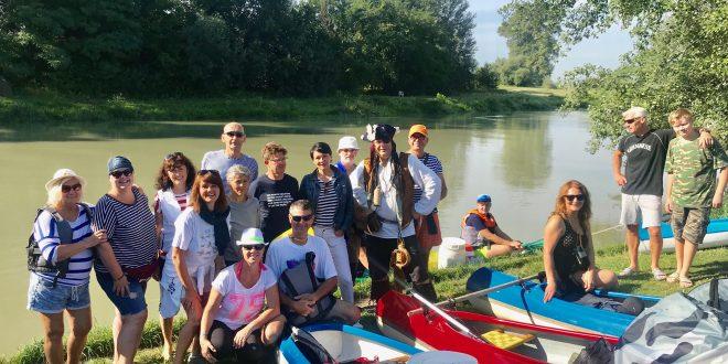 Splav Malého Dunaja leto 2020