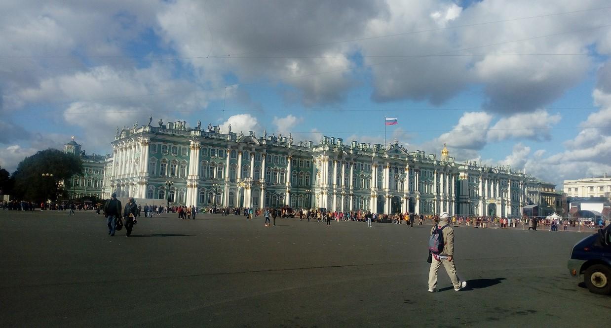 Petrohrad Katarina Serinova Zimny Palac