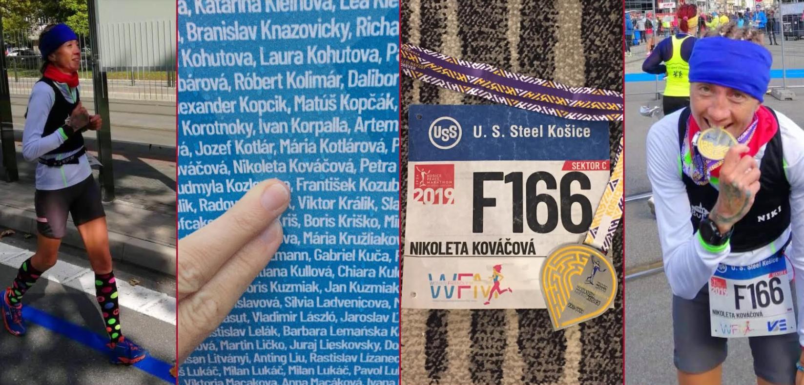 Kosicky maraton Nikoleta Kovacova