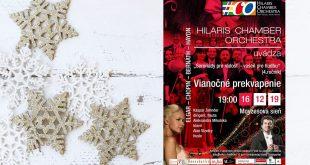 Pozvánka na koncert - Vianočné prekvapenie