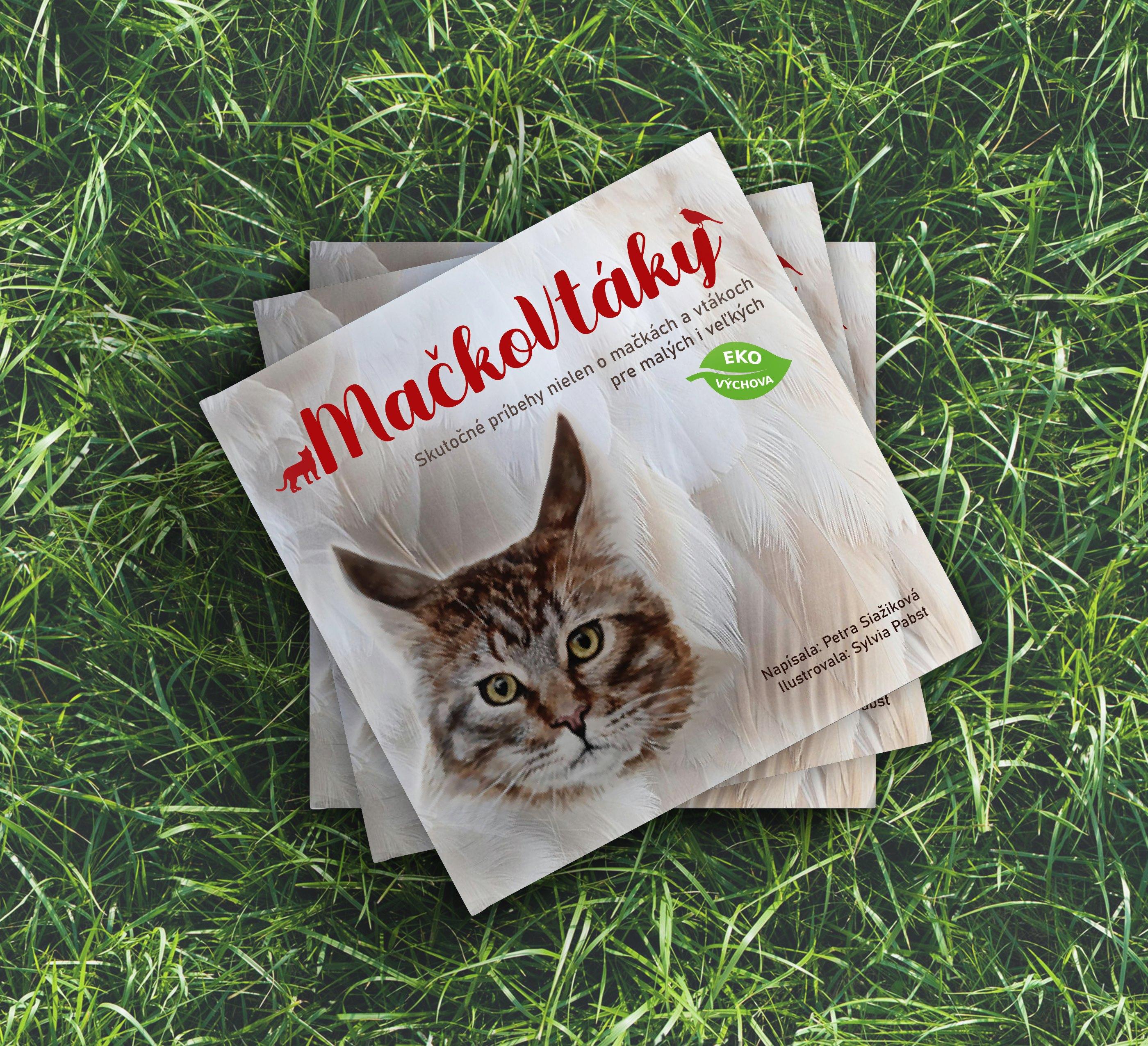 Kniha pre deti v školskom veku - MačkoVtáky