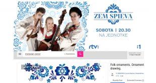 Pravé slovenské ornamenty v relácii Zem spieva?