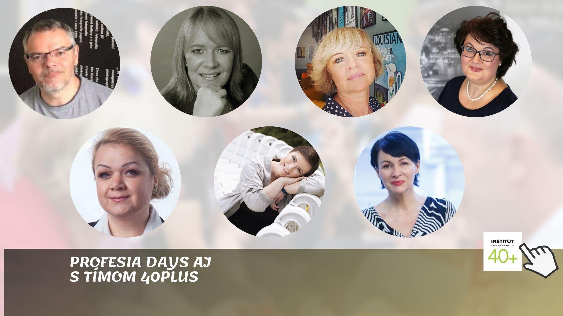 na Profesia Days chceme podporiť ľudí po 40ke