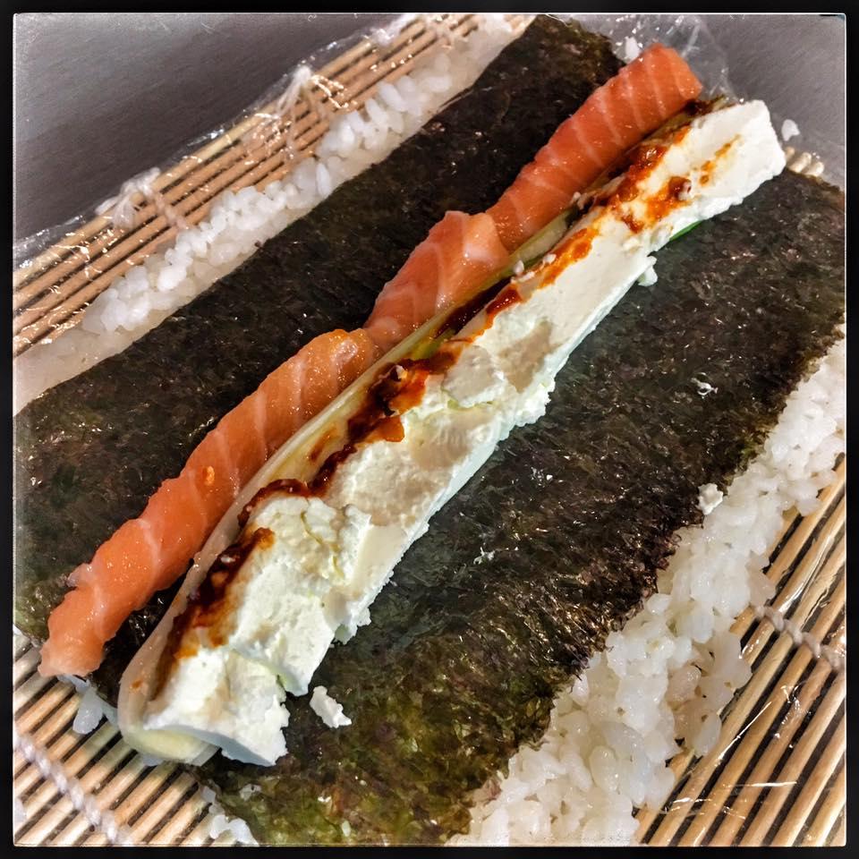 Ako pripraviť sushi jednoducho adoma