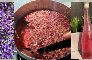 Fantastický fialkový sirup, ktorý budete milovať