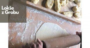 Pravé zemiakové lokše z Grobu s pečeňovou náplňou