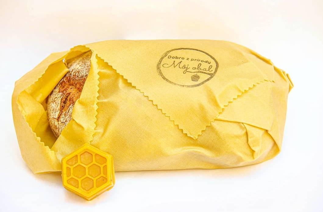 voskový obrúsok na chlieb