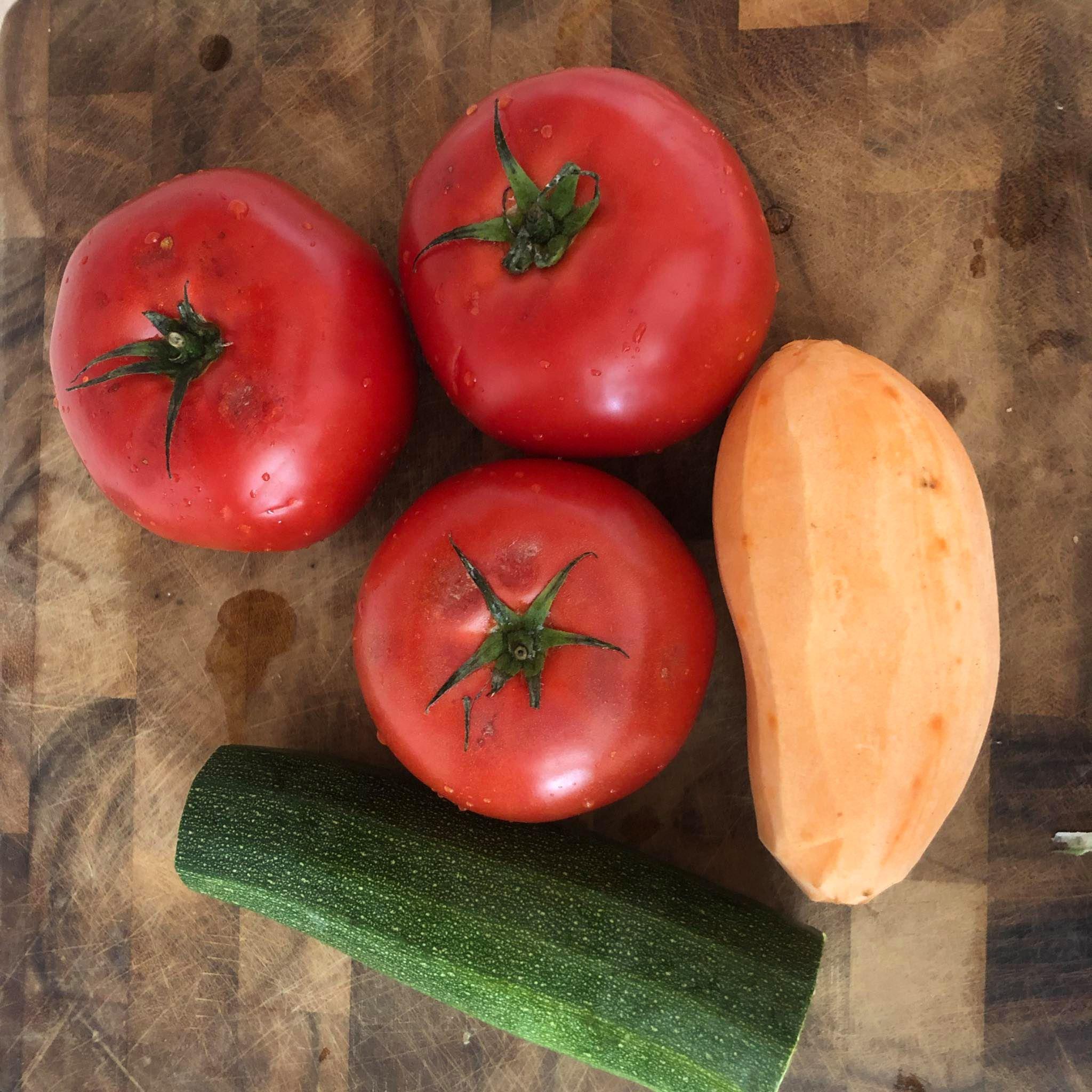 Fazuľový prívarok v paradajkovej omáčke