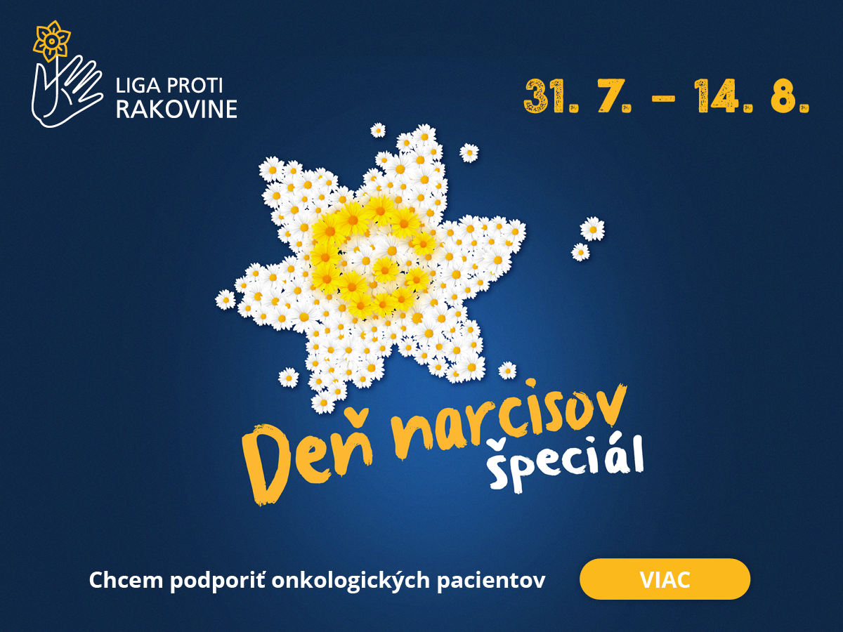 Podporte špeciálny deň narcisov online
