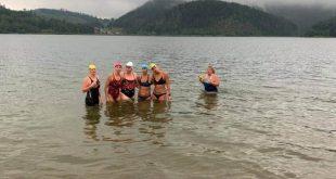 štafeta žien cez kanál LaManche