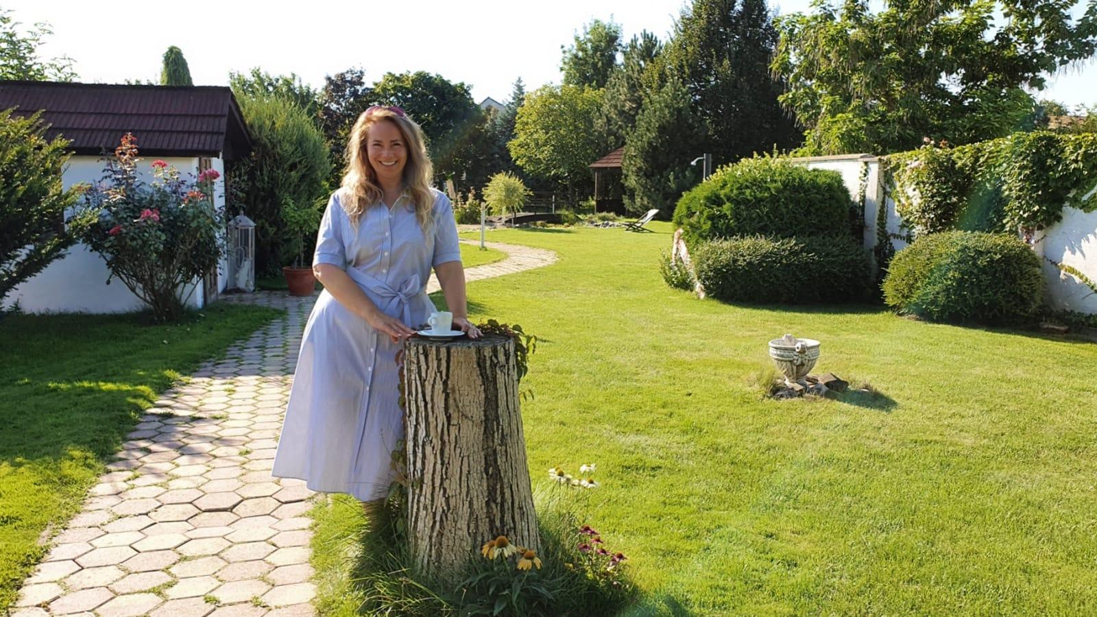 Sladká záhrada Čuňovo Eva Wolfová