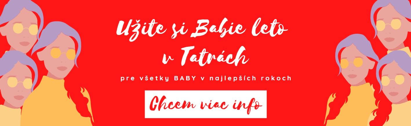 Babie leto s babami - víkendový reštart