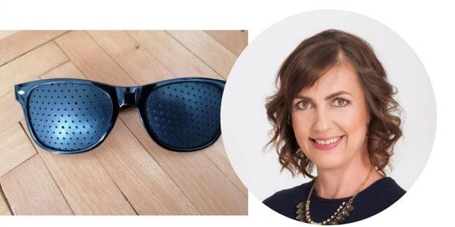 Dierkované okuliare vyliečia váš zrak?