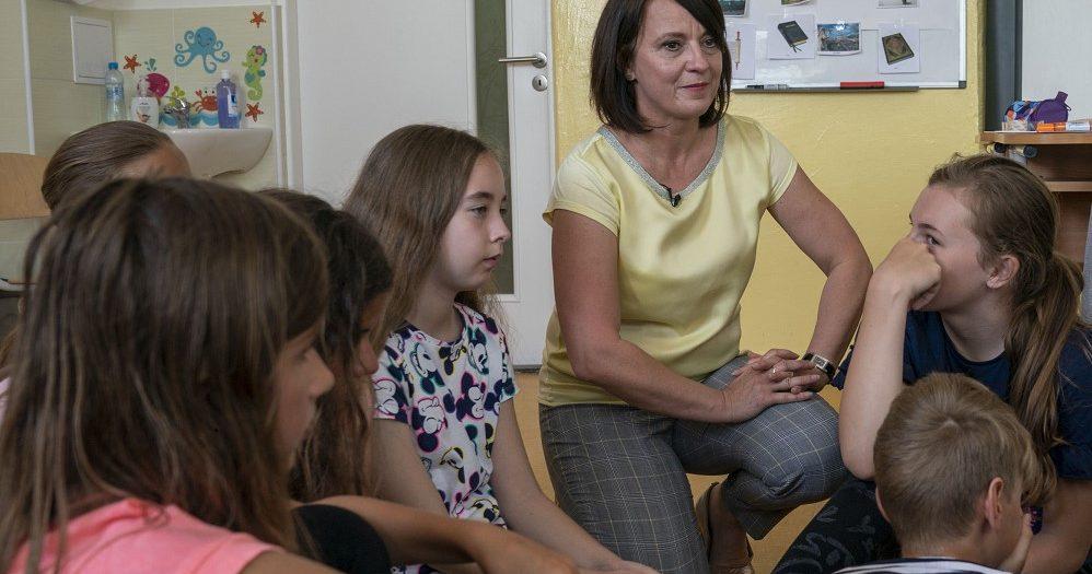Ocenenie učiteľ Slovenska Iveta Barková