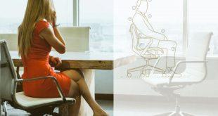 Stolička pre zdravé sedenie neseda