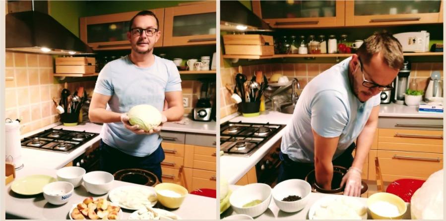 Recept na domácu kyslú (kvasenú) kapustu