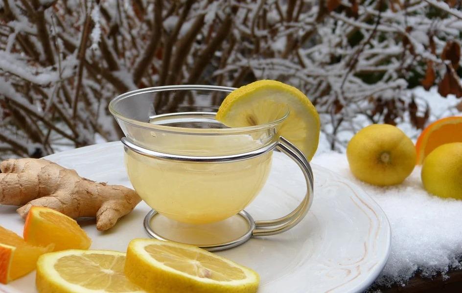 Ako si pripraviť Šípkový a zázvorový čaj na imunitu