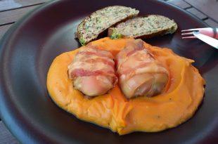 Sviečková omáčka s mäsom a knedľou LOWCARB bez mlieka a múky