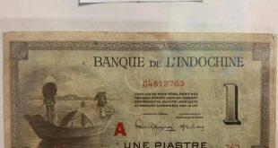 Aké bankovky platili v Indočíne