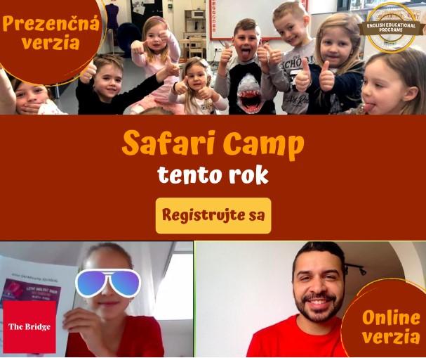 Anglický Letný tábor pre deti 2021