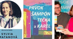Recenzia knihy/Patrik Hartl: Prvok, Šampón, Bodka a Karol (Bourdon, 2019)