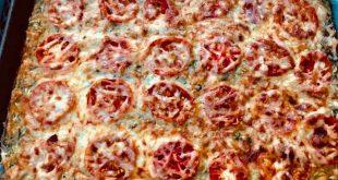 Cuketová pizza alias pizza z cukety - rýchly recept