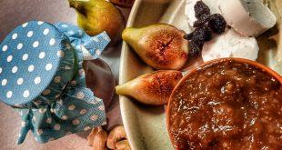 Na figový džem potrebujete figy, med aorechy