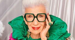 Najstaršia modelka Iris Apfel má 100 rokov