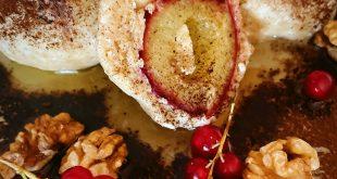 Ovseno-tvarohové guľky s ovocím