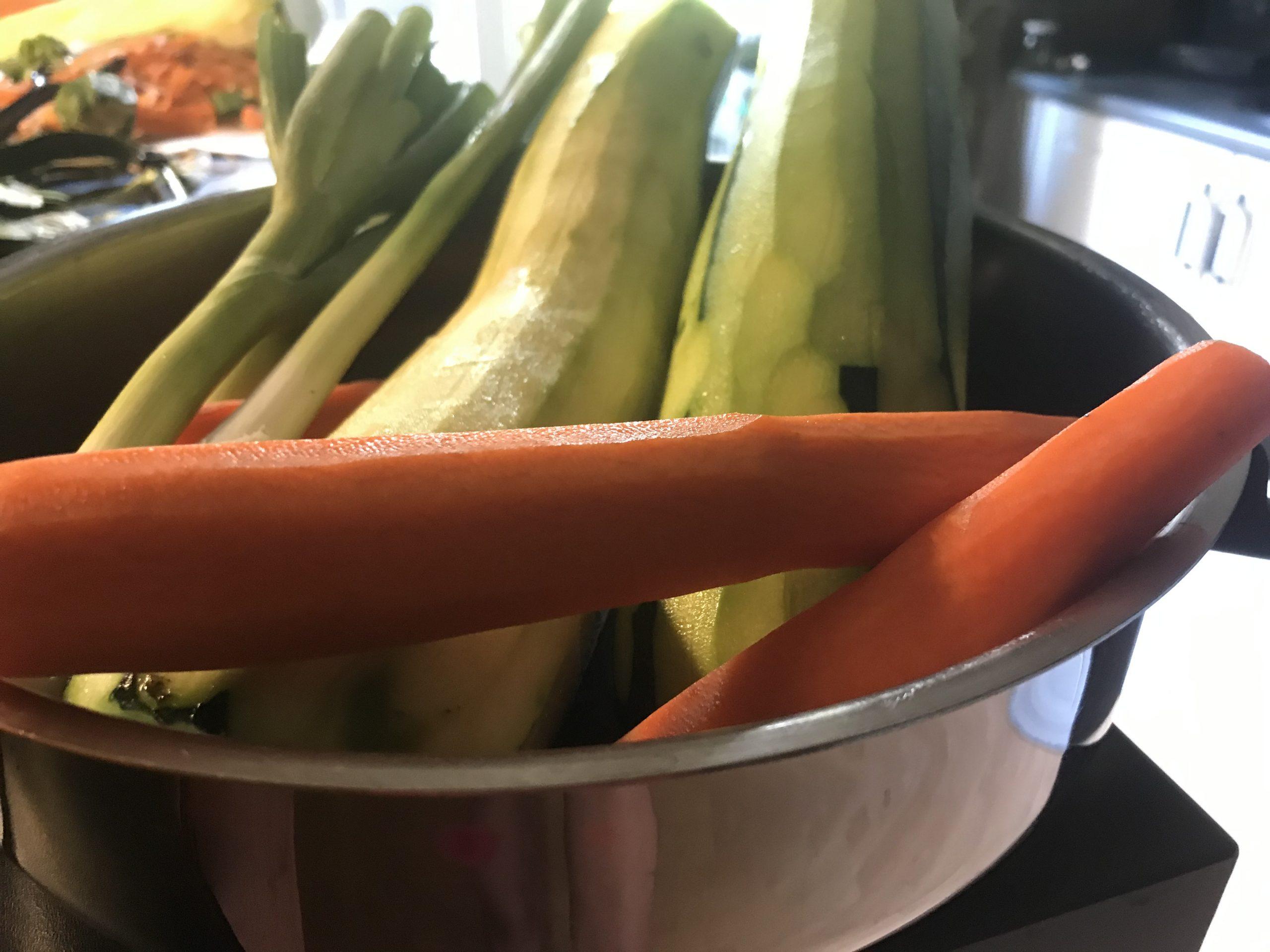 Zeleninové palacinky na slano zcukety amrkvy - príprava